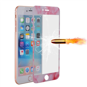 "3D Full Cover Case Color Tempered Glass for iPhone 6 6S 4.7"" Explosion Proof Film For iPhone 6 6s Plus 5.5"" Screen Protector"