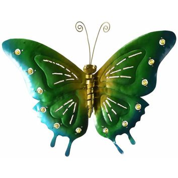 D Art Collection Iron Butterfly WallDecor Medium