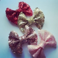 Sparkle Mini Hair Bows