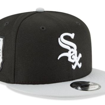 Chicago White Sox 3-Time Champions Side Stated New Era 9FORTY Snapback Hat