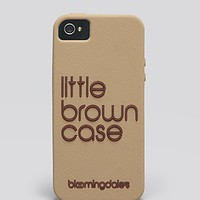 CaseMate iPhone 5/5s Case - Exclusive Little Brown | Bloomingdale's