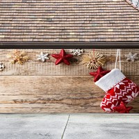 Christmas Garage Door Cover Banners 3d Holiday Outside Decorations Outdoor Decor for Garage Door G60