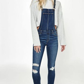 ONETOW PacSun Blue For You Overalls at PacSun.com