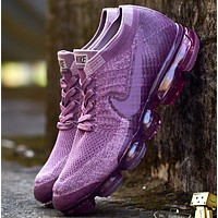 Nike Air VaporMax Fashion Women Sport Casual Sneakers Running Shoes Purple G-XYXY-FTQ