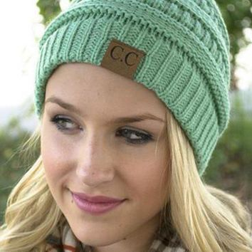 Chunky Soft C.C. Beanies Day-First™