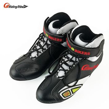 PRO-BIKERS Off-road Racing Shoes Summer Motorcycle Motorbike Motocross Riding Boots