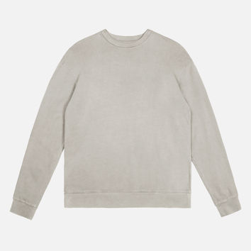 Oversized Crewneck Pullover / Clay