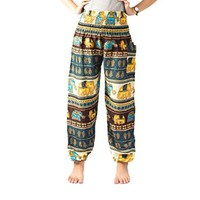Aladdin Pants Yoga Pants Elephant Pants Hippie Clothes Genie Pants Maxi Pants