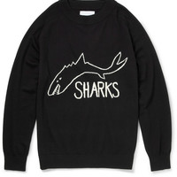 Sibling - The Sharks Intarsia Wool Sweater | MR PORTER