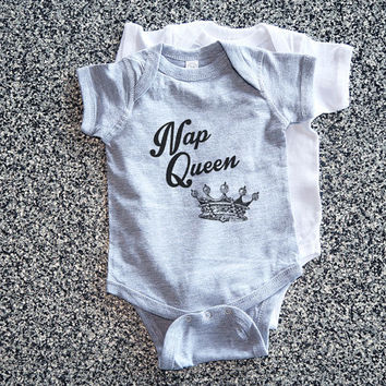 Baby Gift, Baby Girl, Baby Shower, Girl Toddler, Toddler Gift, Baby Onsies, Onsie, Onesuit - Nap Queen