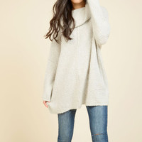 Throw in the Cowl Sweater | Mod Retro Vintage Sweaters | ModCloth.com