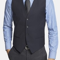 Men's HUGO 'Wel' Stretch Wool Vest,