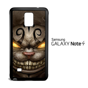 Alice Madness Returns Cheshire Cat Z0999 Samsung Galaxy Note 4 Case