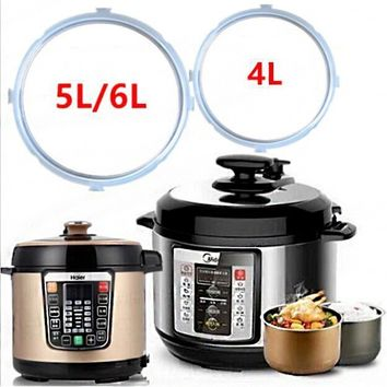 Electric Pressure Cooker Silicone Sealing Ring 4L/5-6L