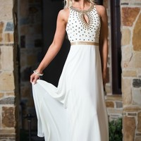Breathtaking Studded Maxi Dress
