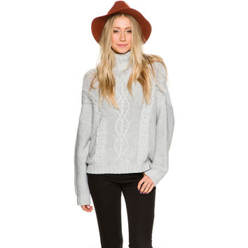 RHYTHM RHYTHM YACHT KNIT SWEATER