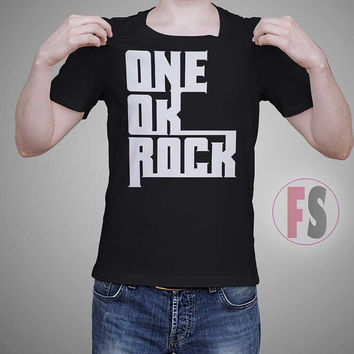 ONE OK ROCK Text Vector AllukaArtTees Unisex Adult Tees