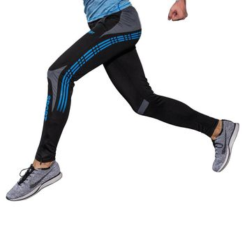 Man pants riding soccer fitness fit running hawaiian sport pants beach compression sexy running compression Pants men