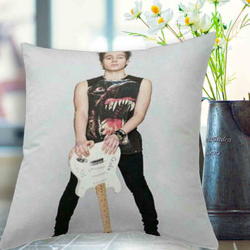 "luke on teen now Pillow,5 seconds of summer, 5sos pillow case # 18"" x 18"" , 16"" x 24"" , 20"" x 30"""