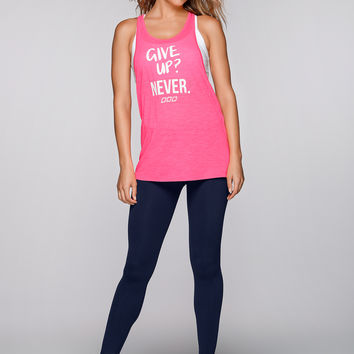 Never Give Up Gym Tank