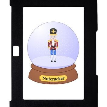 Nutcracker Snow Globe - Red Gold Black Galaxy Note 10.1 Case  by TooLoud