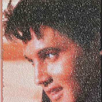Elvis Presley Songs Portrait Poster 24x36