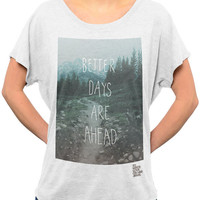 To Write Love on Her Arms Official Online Store - Better Days Scoop Shirt