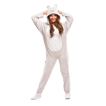 Buy Grey Mouse Adult Footed Pajama Costumes | World's Best PJ's