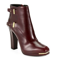 Belstaff - Wembley Leather Platform Ankle Boots