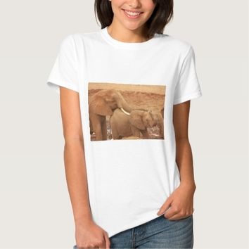 elephant custom personalize diy Anniversaries Shirt