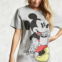 Mickey Mouse Coffee Nightdress
