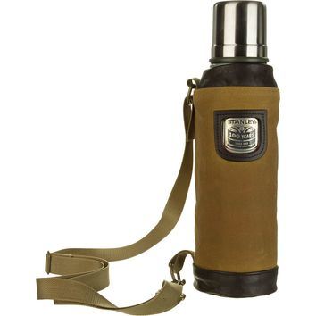 Stanley 100th Anniversary Vacuum Bottle with Filson Sling - 35oz Heritage Green, One