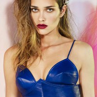 Nasty Gal Collection Infinite Leather Bustier