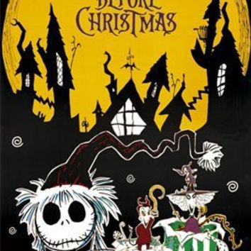 THE NIGHTMARE BEFORE CHRISTMAS POSTER Santa Claus 24X36