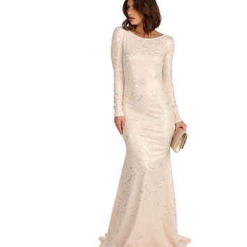 Alegra- Ivory Formal Dress