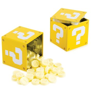 Nintendo Super Mario World Question Mark Box Coin Candies