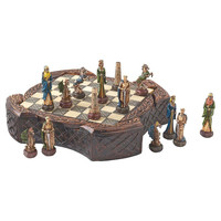Park Avenue Collection Legendary Celtic Warriors Chess Set