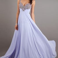 Embellished Low Back Sweetheart Gown