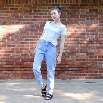 10% OFF //80's Levi's Native Blue Wash High Waisted Skinny Jeans Size 5