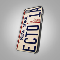For iPhone 5 - Ghostbuster Ecto 1 Plate - Photo on Hard Cover