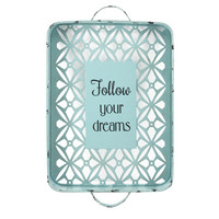 Fetco Home Decor Elzie Follow Your Dreams Distressed Decorative Wall Décor & Reviews | Wayfair.ca