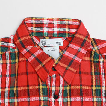 CNCPTS / Visvim Black Elk Flannel Y.D. Giza (Red Check)
