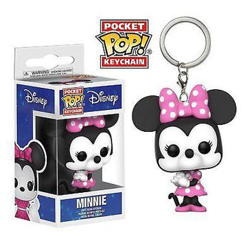 Funko Pop Keychain: Disney-Minnie Mouse Collectible Vinyl