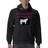 Bad Ass Girls Show Bad Ass Steers from Zazzle.com
