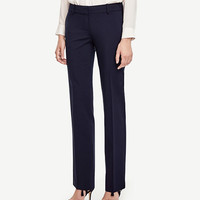 The Straight Leg Pant in All-Season Stretch - Devin Fit | Ann Taylor