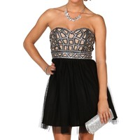 Jennilyn-black Homecoming Dress