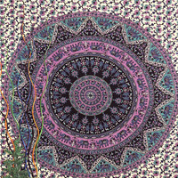 Star tapestry Wall Hanging , Indian Mandala Tapestry Throw Bedspread , Dorm Tapestry , Decorative Wall Hanging , Picnic Beach Sheet Coverlet