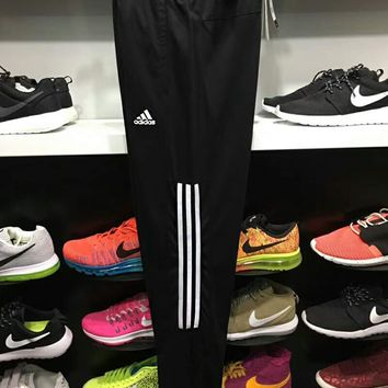 Adidas Fashion Women Men Print Casual Drawstring Exercise Knit Cotton Sport Pants Trousers Sweatpants I-ADNK-CNSM-QT