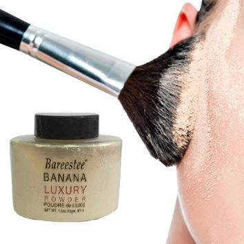 1pcs Beauty Banana Powder Bottle Luxury Powder Poudre de Luxe Banana Loose Foundation Beauty Makeup Highlighter