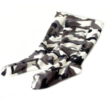 Polar Feet® Fleece Boot Liners - Snow Camo